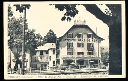 74 TANINGES / Hôtel Du Bras De Fer, Propriétaire M. Vagnoux / - Taninges