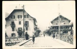 74 TANINGES / Avenue De La Gare / - Taninges