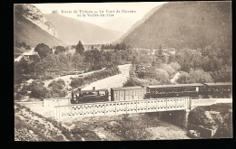 74 THONES / Le Pont De Morette Et La Vallée Du Fier / - Thônes