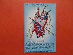 27741 PC: USA: Flags Of The Confederacy. - Etats-Unis