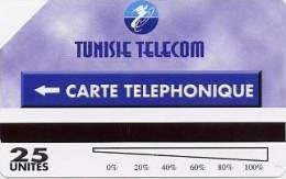 @+ Tunisie - Télécarte Urmet Tunisie Telecom - 25U - Tunisie