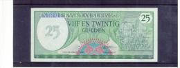SURINAME -   1.11.1985   ,  25  Vijf En Twintig  Gulden ,  Pick # 37 B - Surinam