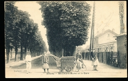 92 ANTONY / Boulevard Muret Et La Gare / - Antony