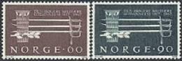 NOORWEGEN 1967 Militaire Opleiding Serie PF-MNH-NEUF - Unused Stamps
