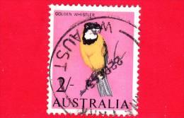 AUSTRALIA - USATO - 1966 - Uccelli - Birds - Oiseaux - Golden Whistler - 2/. - 1966-79 Elizabeth II