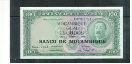 MOCAMBIQUE , MOZAMBIQUE , 1976  Auf  27.3.1961 ,  100  Gem Escudos   ,   Pick# 117   ,  UNC - Mozambique