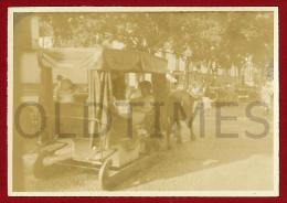 MADEIRA - FUNCHAL - CARRO DE BOIS -  1920 REAL PHOTO - Other