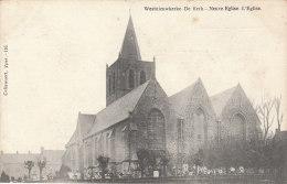 1909 Cpa/pk Westnieuwkerke De Kerk Neuve Eglise Callewaert Yper #116 - Heuvelland