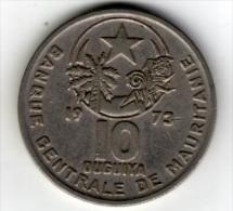 MAURITANIE - 10 OUGUIYA - 1973 - Mauritanie