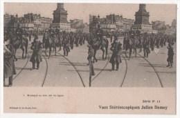 Vues Stéréoscopiques Julien Damoy - Musique En Tête  (46e De Ligne) - Stereoscopische Kaarten