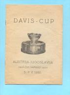 YUGOSLAVIA-DAVIS CUP-TENNIS-1950. - Tennis