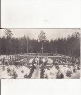 Carte Postale Photo Militaire Allemand - FRIEDHOF - CIMETIERE MILITAIRE - A SITUER ?? - Cimiteri Militari