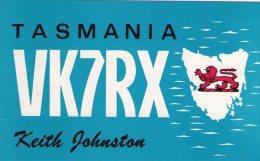 HOBART , Tasmania   ,  QSL  , Radioamatori * - Hobart