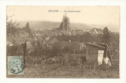 Cp, 51, Sézanne,Vue Panoramique, Voyagée 1905 - Sezanne