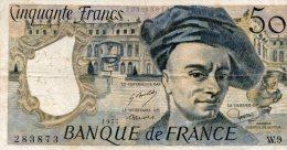 - BILLET De 50 F. QUENTIN DE LA TOUR - 1977 -  479 - 1962-1997 ''Francs''