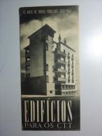 PORTUGAL. Edifícios Dos Correios (CTT) Em Diversos Pontos Do País / Building Of Post Office In Portugal - Boeken, Tijdschriften, Stripverhalen