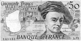 - BILLET De 50 F. QUENTIN DE LA TOUR - 1992 -  493 - 50 F 1976-1992 ''Quentin De La Tour''