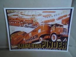 Carte Postale Cirque Pinder Il Arrive Le Vrai Pinder - Zirkus