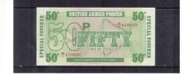 Grossbritannien , Great Britain  , 1972 ,  50 Fifty New Pence   ,    Pick# M49    ,   UNC - Militärausgaben