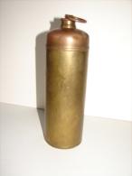 MD3. 53. Ancienne Bouillotte En Cuivre Jaune - Coppers