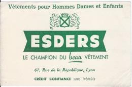 Buvard  VETEMENTS ESDERS à Lyon