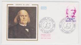 LECONTE DE L' ISLE - SAINT PAUL EN 1978 - FDC