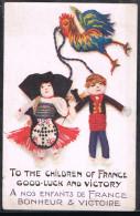 A Nos Enfants De France Bonheur & Victoire . - Patriottiche