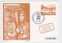 2001 - SAINT GUILHEM LE DESERT - Documents Of Postal Services