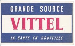 Buvard   VITTEL - Food
