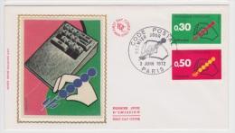 1972 - CODE POSTAL - PARIS - 1970-1979