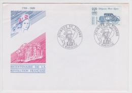 1989 - JOURNEE DU TIMBRE - MARSEILLE - 1980-1989