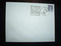 LETTRE TP BLSON NIORT 0,01F OBL.MEC. DAGUIN 4-7-1969 L'EPINE MARNE (51 MARNE) - Postmark Collection (Covers)