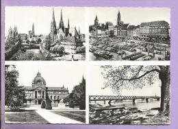 67 - STRASBOURG - Multivues : Eglise St Paul, Place Kléber, Place De La République - Pont Du Rhin - Strasbourg
