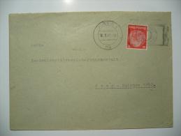 DR  1941 - Brief Aus AUSSIG Sudetengau Nach Prag Protektorat Böhmen Und Mähren - Brieven En Documenten