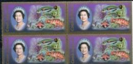 Cook, 2007, Fauna,  Fish  Stamp, 7.50$ In Block Of 4 - Cook