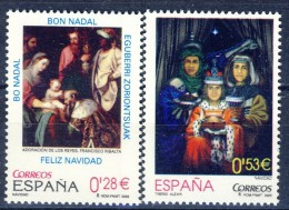 ##Spain 2005. Christmas. Paintings. Michel 4086-87. MNH(**) - 1931-Aujourd'hui: II. République - ....Juan Carlos I