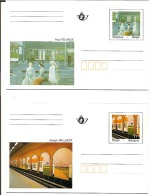 Belgïe    Briefkaarten     Y/T    BK / 52 / 53 - Stamped Stationery