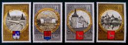 CEINTURE D´OR AVEC EMBLEME OLKYMPIADE 80 1978 - NEUFS ** - YT 4549/52 - MI 4788/91 - 1923-1991 USSR
