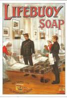 Carte Postale Publicitaire Savon LIFEBUOY SOAP - Advertising