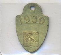 Nederland - ´s-Gravenhage 1930  - Hundemarke - Dog Tax Tag- Médaille De Chien - Hondenpenning - Unclassified