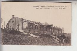 F 57400 SARREBOURG / SAARBURG, Reithalle Ulanen Regt. Nr.11, Deutsche Feldpost 1918 - Sarrebourg