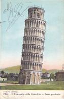 PISA IL CAMPANILE DELLA CATTEDRALE O TORRE PENDENTE - Pisa