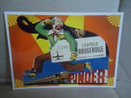Carte Postale Cirque Pinder Matha Cognac Leopold Bugerolle - Zirkus