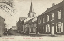 Erquelinnes - Quartier De La Gare - 1924 ( Voir Verso ) - Erquelinnes