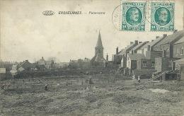 Erquelinnes - Panorama - Potagers Ouvriers Derrière Les Maisons - 1924 ( Voir Verso ) - Erquelinnes