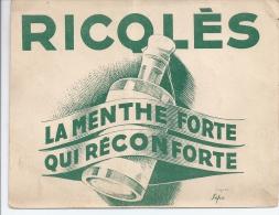 Carte De Visite, Ricolés - Visiting Cards