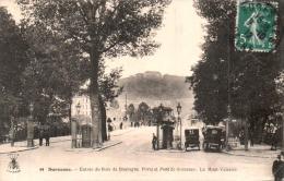 92 SURESNES ENTREE DU BOIS DE BOULOGNE PORTE ET PONT DE SURESNES LE MONT VALERIEN  CIRCULEE 1912 - Suresnes