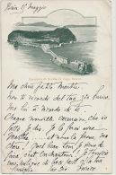 Panorama Di Nisida Col Capo Miseno  Edit Richter Timbrée 1899 Baia - Altre Città