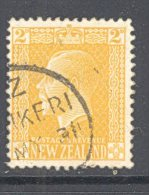 NEW Zealand, A Class Postmark KERIKERI On George Vl Stamp - Used Stamps