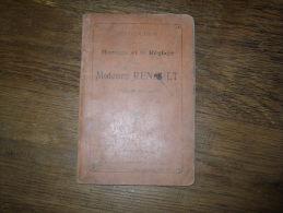 Instruction Sur Le Montage Et Le Réglage Des Moteurs Renault Type 80 Chevaux - Livres, BD, Revues